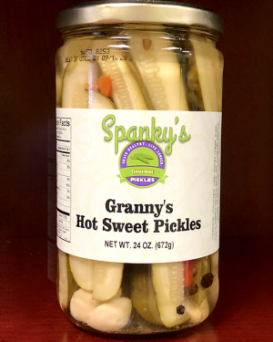Granny's Hot Sweet Pickles