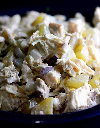 Chicken Salad with Pickles