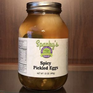 Spicy Pickled Eggs
