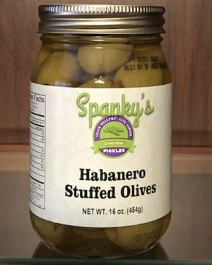 Habanero Stuffed Olives